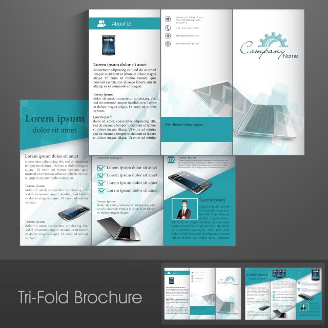 Product Tri Fold Brochure: Print Shop Cyberjaya